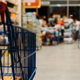 עגלת סופר בסופרמרקט