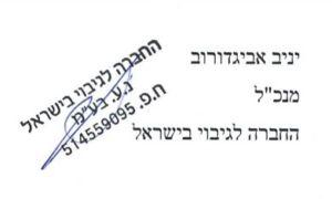 חתימה החברה לגיבוי בישראל